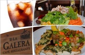 Almuerzo para Dos en De La Galera $360.-