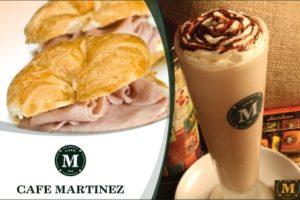 Merienda para 2 en Café Martínez $270.-
