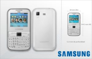 Celular Dual Sim Samsung $2.700.-