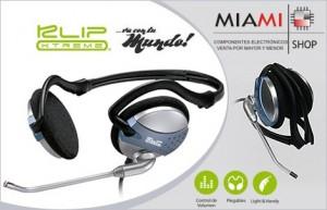 Auriculares Klip Xtreme en Miami Shop $169.-