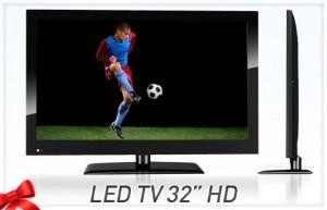 Televisor LED 32 Pulgadas u$s 487