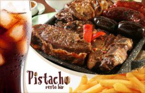 Brasero para Dos en Pistacho Resto Bar $385.-
