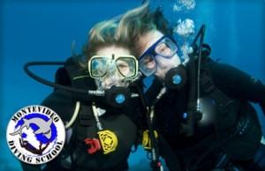 Clase de buceo en Montevideo Diving School con un 70% de descuento