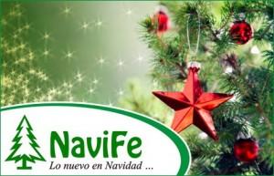 Arbolito de Navidad con adornos en NaviFe $579.-