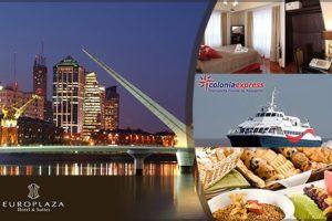 Un paquete de 3 días y 2 noches en Buenos Aires, en el hotel Europlaza, por U$S 159