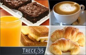 Desayuno completo para Dos en Cafecito Trece35 $160.-