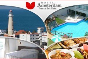 Fin de semana para 2 en el hotel Amsterdam en Punta del Este