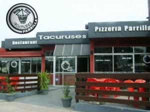 1 Pizzeta para 2 con Bebidas en Tacuruses por 148$