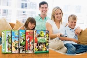 Saga completa de Shrek en Sucursal por 375$