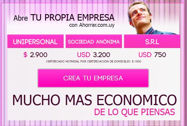 Abre tu propia empresa con Ahorrar.com.uy