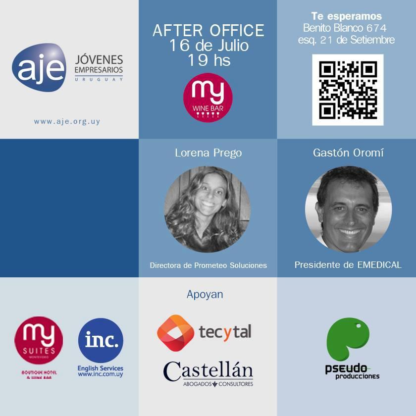 After Office AJE Uruguay Julio
