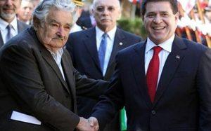 Mujica participó en la Expo 2014 para hacer acuerdos económicos con Paraguay