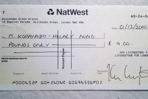 Cómo cruzar un cheque