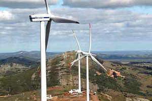 Gamesa colocará 25 aerogeneradores en Uruguay