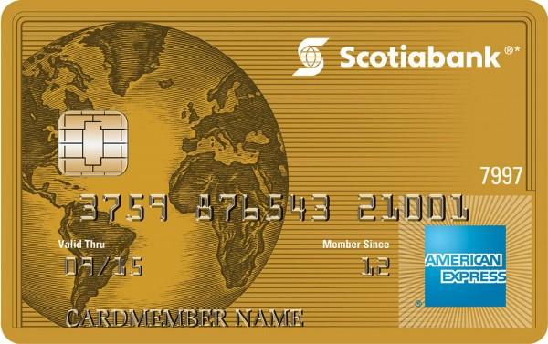 11-09-2015 Requisitos para sacar tarjeta American Express Scotiabank en Uruguay