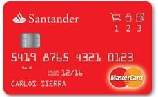 24-09-2015 Requisitos para sacar la tarjeta MasterCard Santander en Uruguay