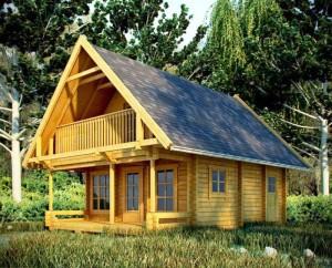 Casas prefabricadas de madera en Uruguay