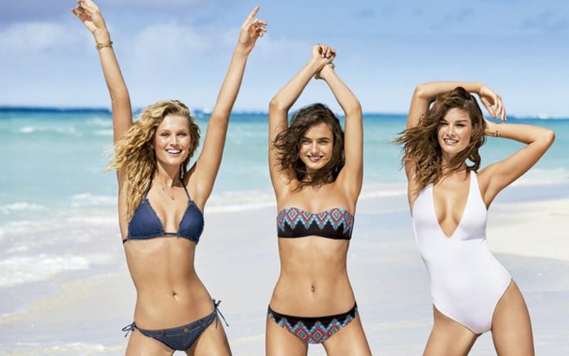 25% de descuento en Mallas y bikinis, vestimenta playa, accesorios